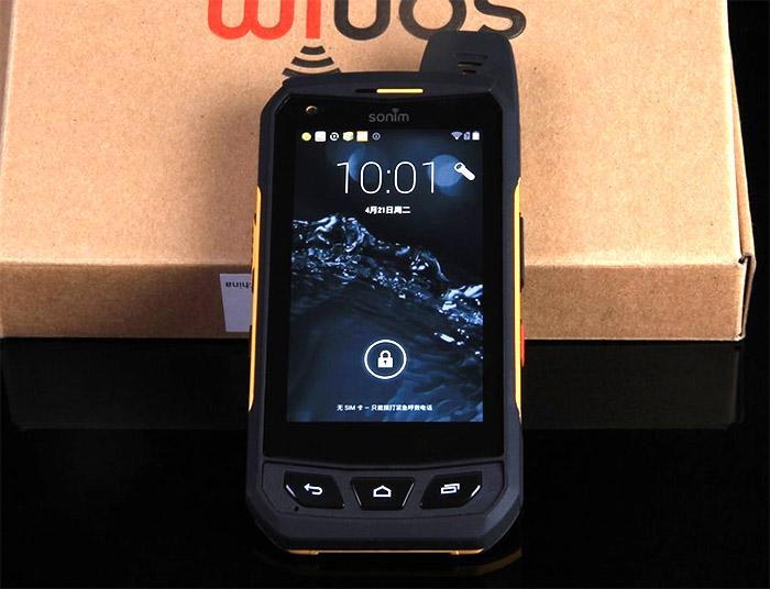 самый лучший защищенный телефон Sonim XP7