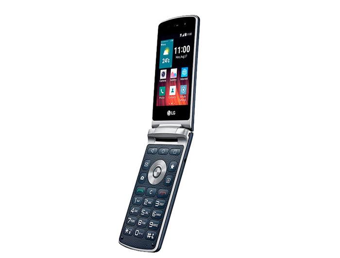 телефон-раскладушка LG Wine Smart H410