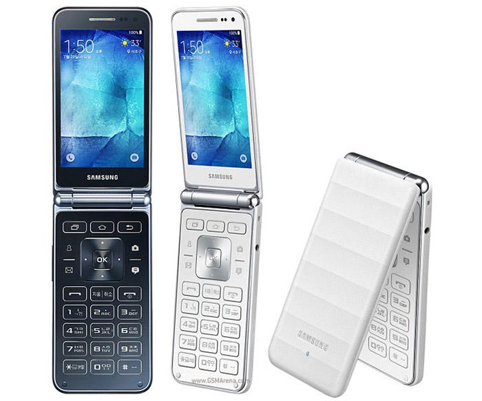 Samsung Galaxy Folder обзор