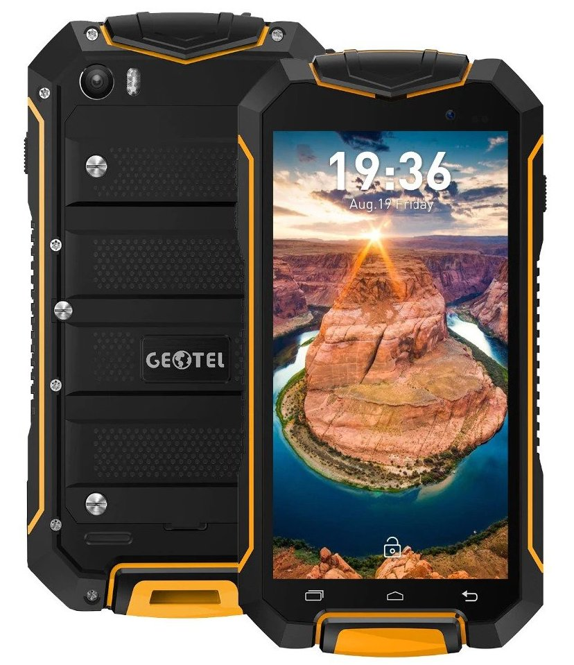 Недорогой защищенный смартфон Geotel A1 Geotel A1