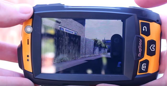телефон с защитой RugGear RG500