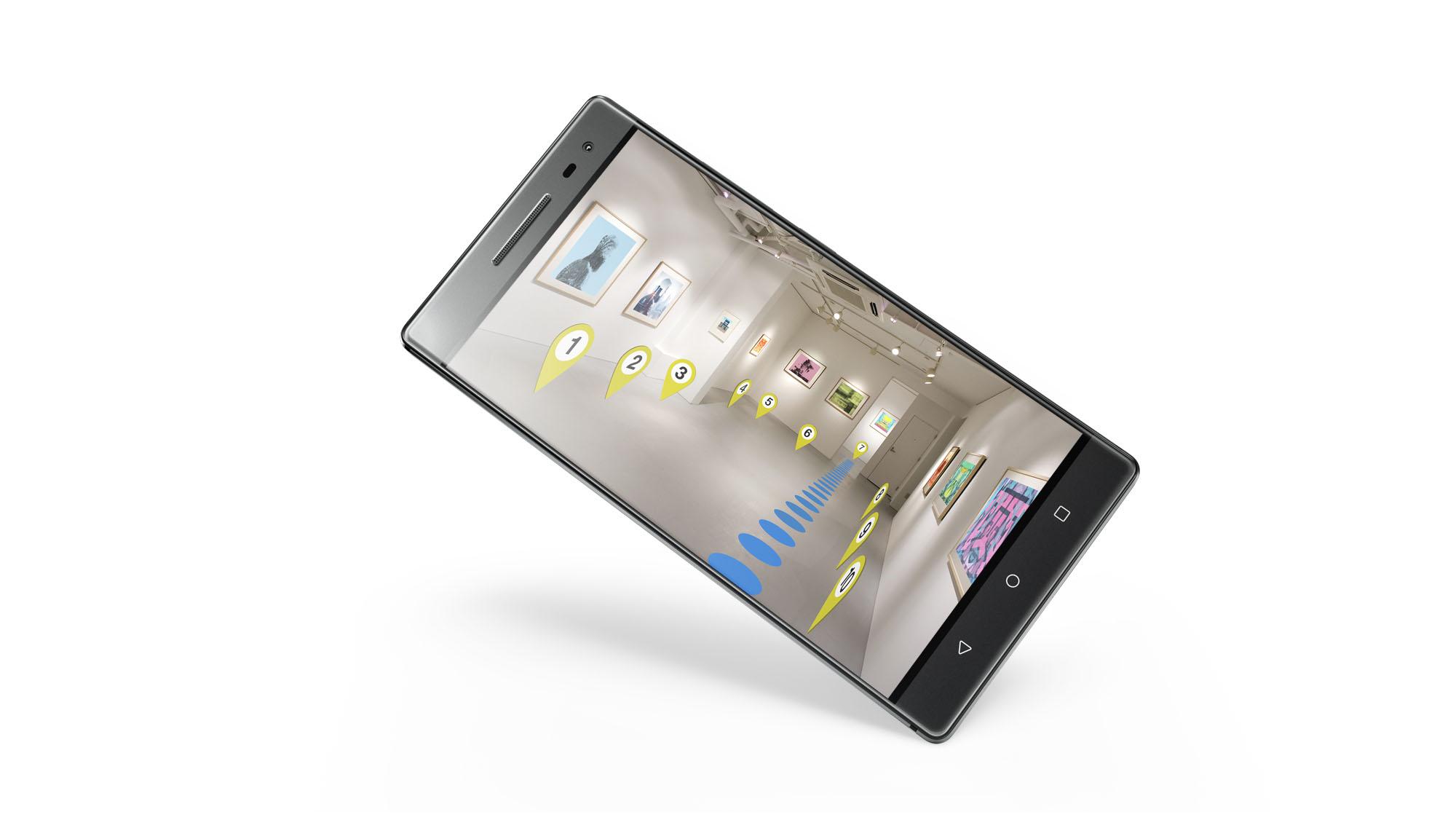 Lenovo Phab 2 Pro ориентируется в 3D пространстве