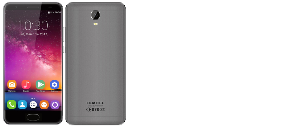 Oukitel K6000 Plus с мощным аккумулятором и быстрой зарядкой
