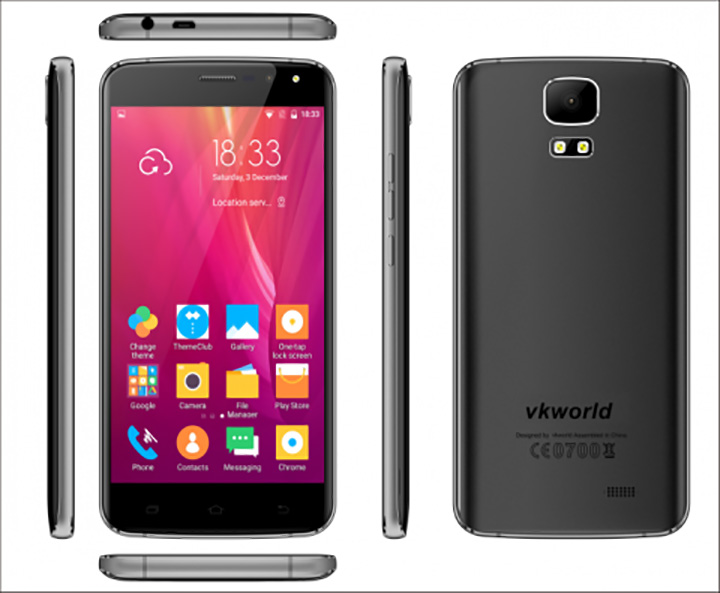 Мультимедийный Vkworld S3 за 50$