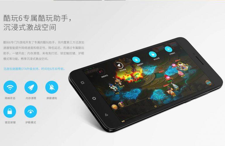 Мощный игровой смартфон Coolpad Cool Play 6