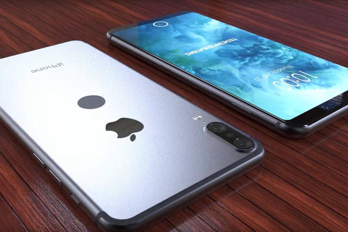 Создан дизайн Айфон 8 по слитому в сеть макету