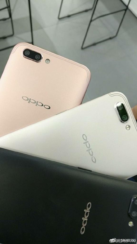 Три цвета для Oppo R11 и R11 Plus