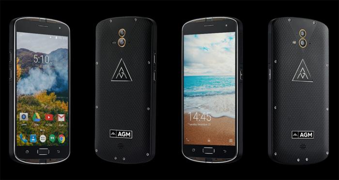AGM X1 с двойной камерой