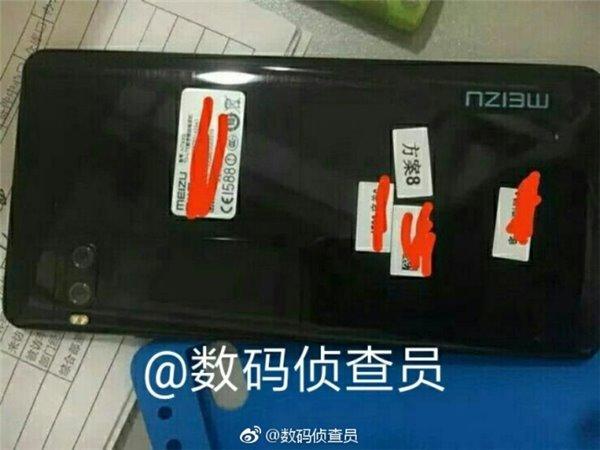 Появились живые фото корпуса Meizu Pro 7
