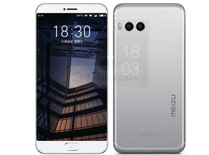 Meizu Pro 7 получит дополнительный экран