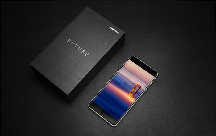 безрамочный смартфон Ulefone Future