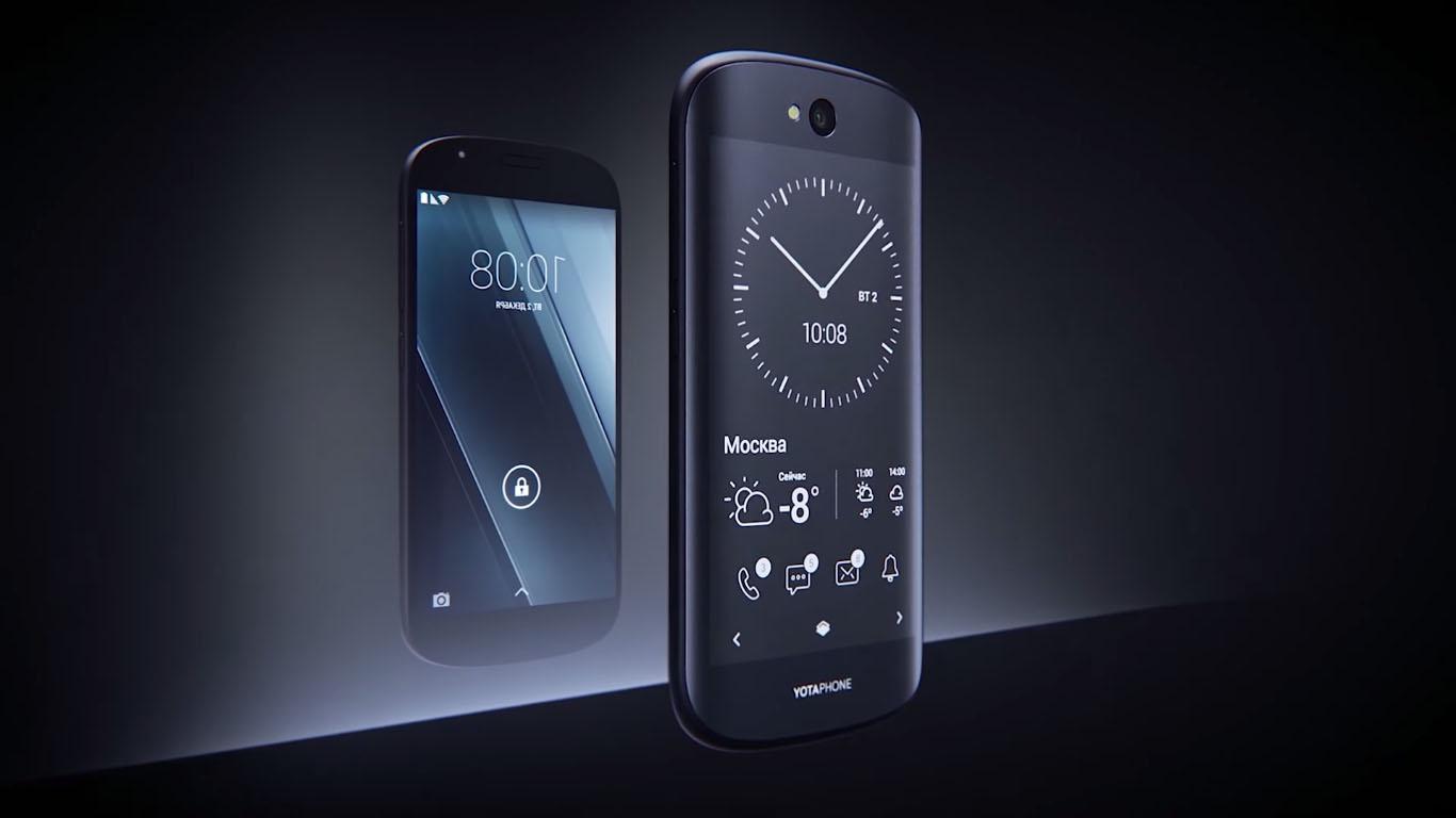 YotaPhone 3 показали в «поднебесной»
