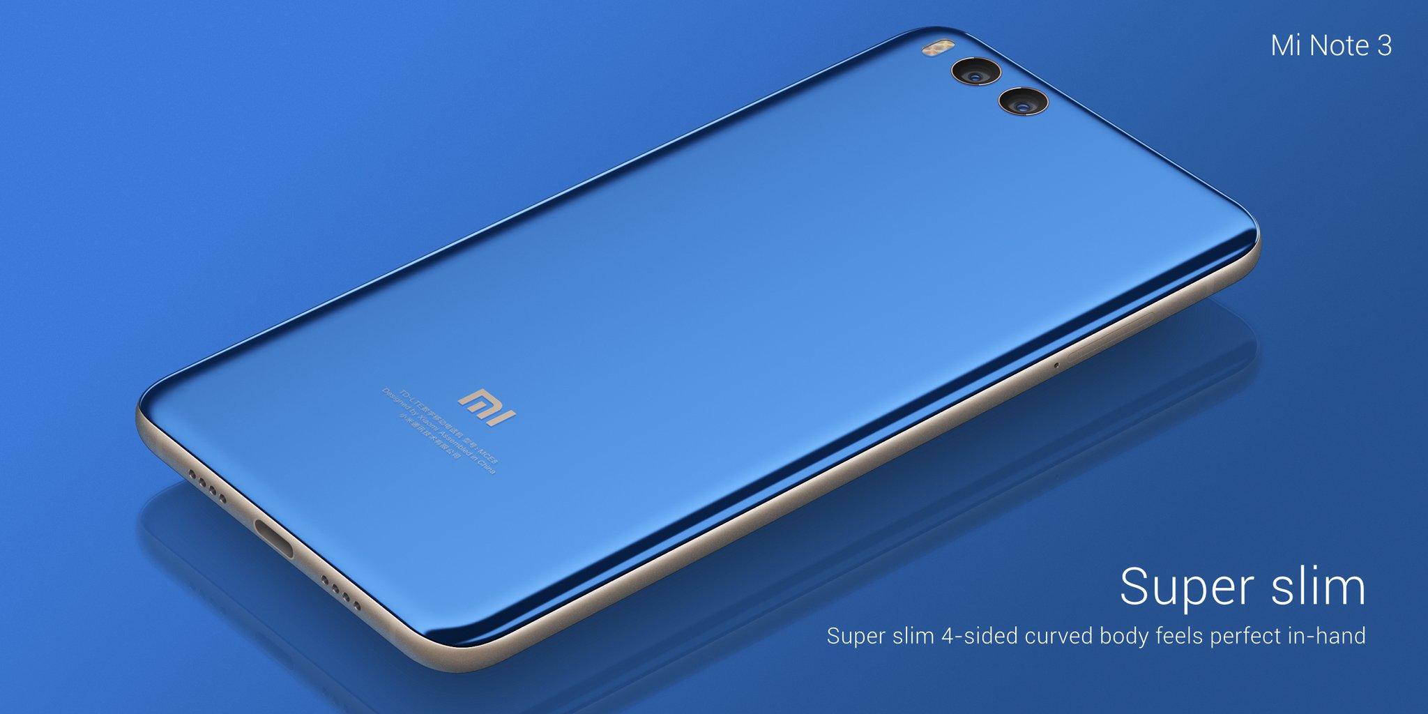 Xiaomi Mi Note 3 - почти Mi 6, только больше!
