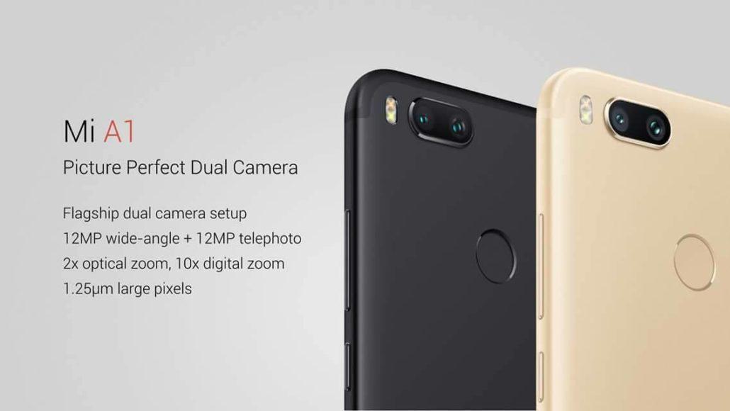 Обзор про смартфон Xiaomi Mi A1
