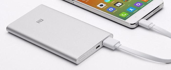 Оригинал Xiaomi Power Bank 5000 мАч Ми Портативное Зарядное Устройство