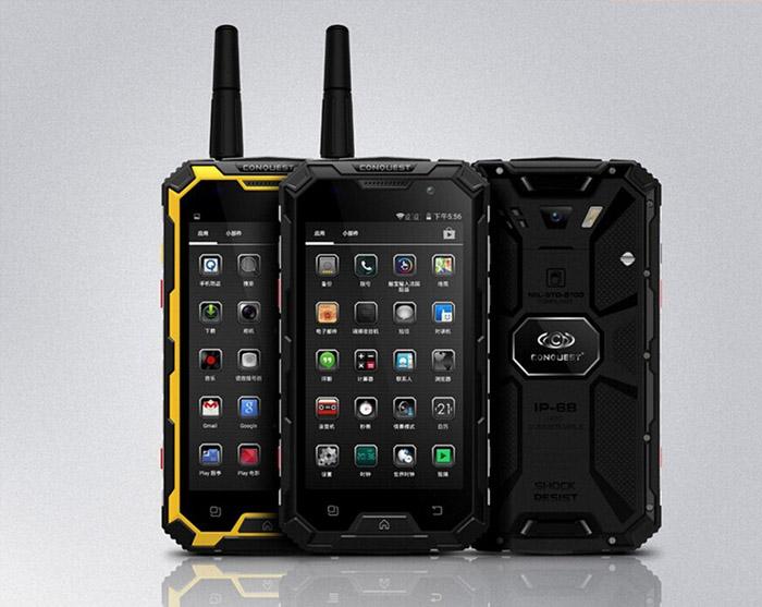 смартфон с беспроводной зарядкой Conquest S6