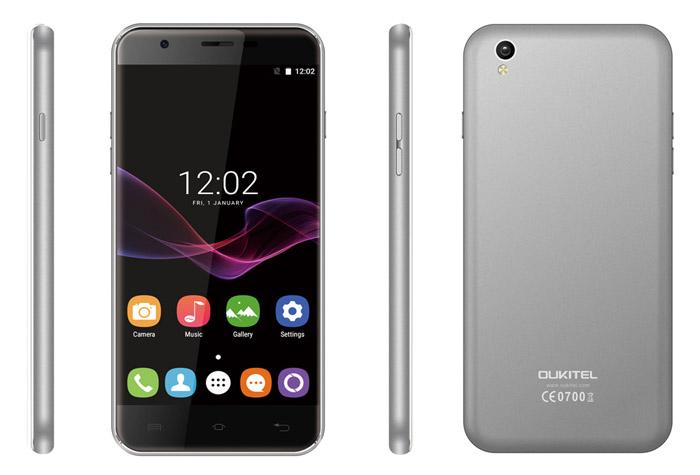 смартфон с qi зарядкой Oukitel u7 max