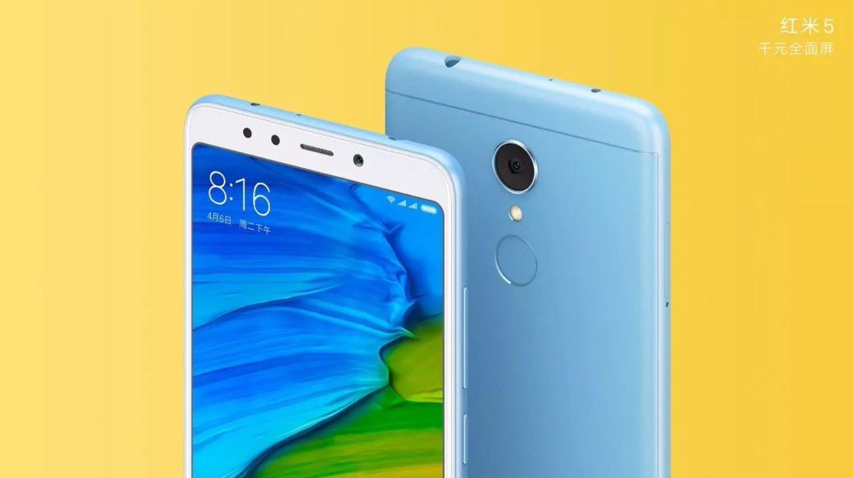В продаже появится Xiaomi Redmi 5 с 4 ГБ оперативной памяти