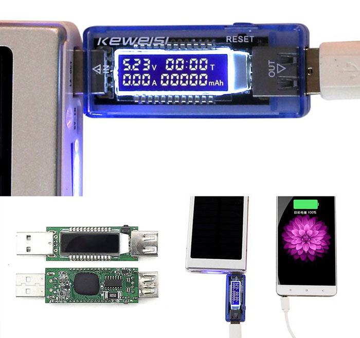 usb тестер для батарей и аккумуляторов