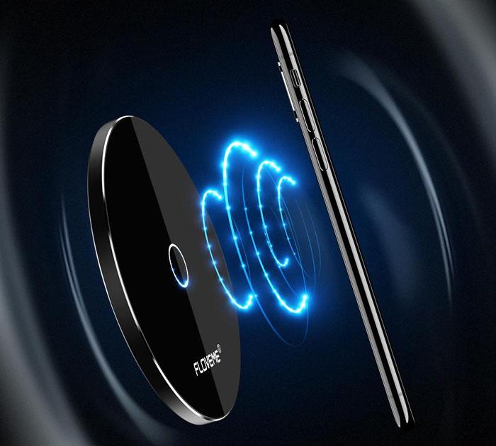 Универсальное Qi Беспроводной Зарядное устройство для Samsung Galaxy S8 S7