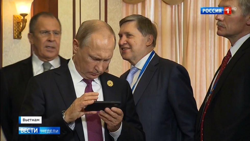 смартфон Путина