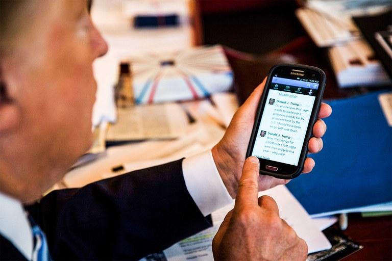 смартфон Дональда Трампа