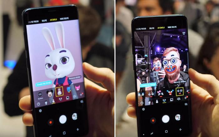 AR Emoji на Samsung Galaxy S9