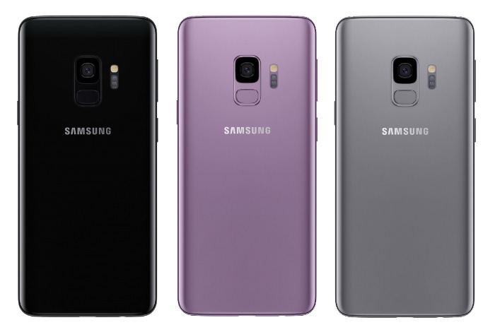 цвета Samsung Galaxy S9