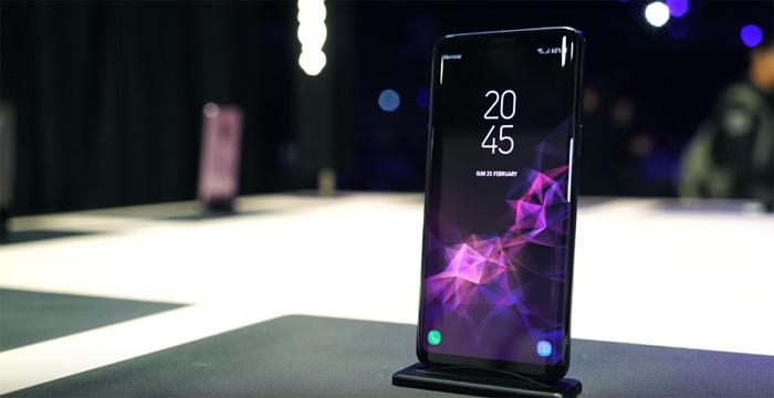новый экран Samsung Galaxy S9