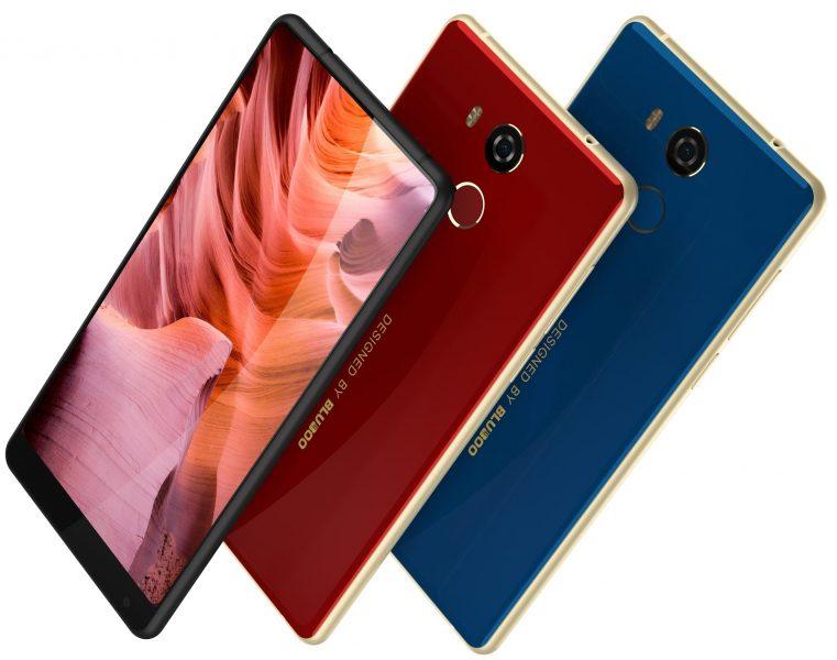 Bluboo D5 Pro: стильный смартфон за 100$