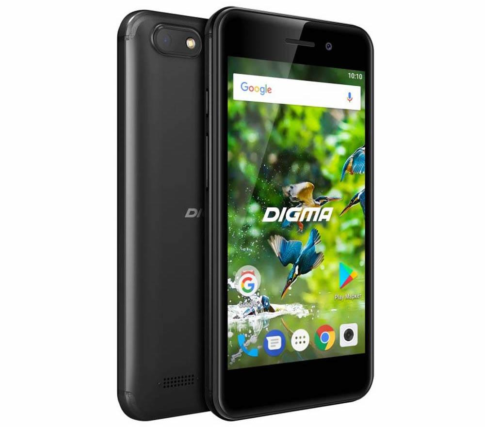 Digma выпустила смартфон начального уровня за 3000 рублей