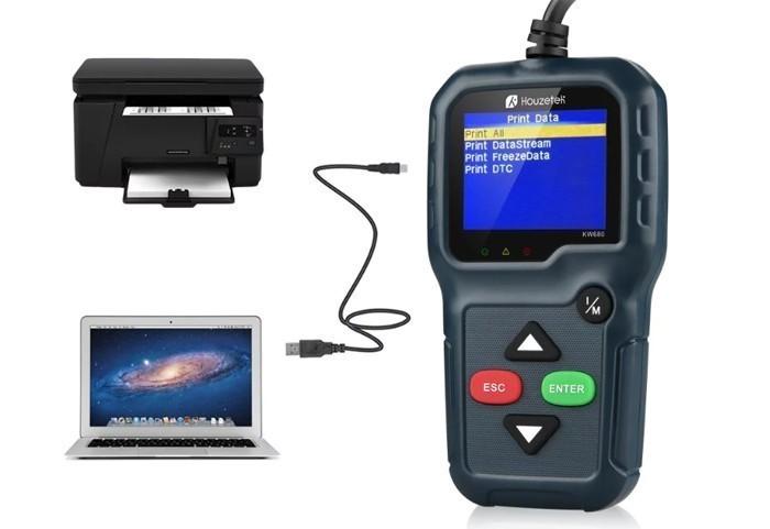 Автосканер Houzetek KW680
