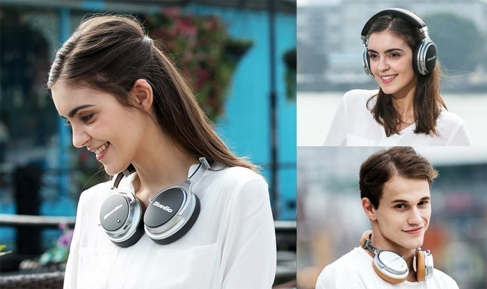 Гарнитура Bluedio F2 Active Noise Canceling Bluetooth