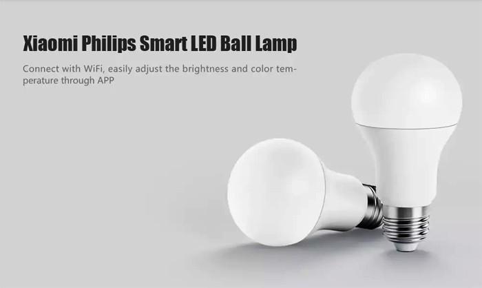 Умная лампочка Xiaomi Philips Smart LED