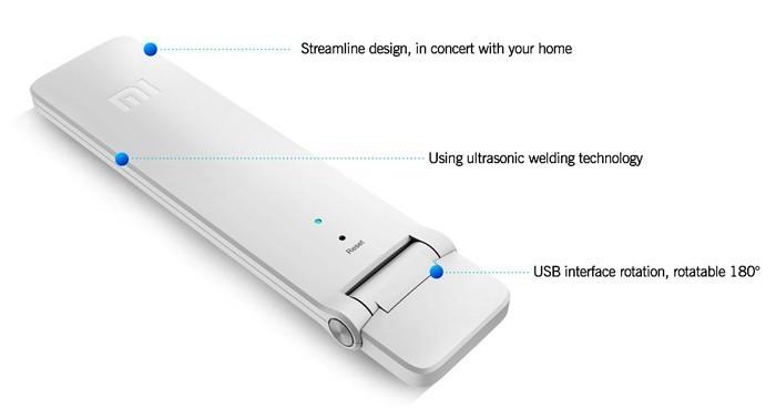 Усилитель сигнала Wi-Fi Xiaomi Mi WiFi Amplifier 2