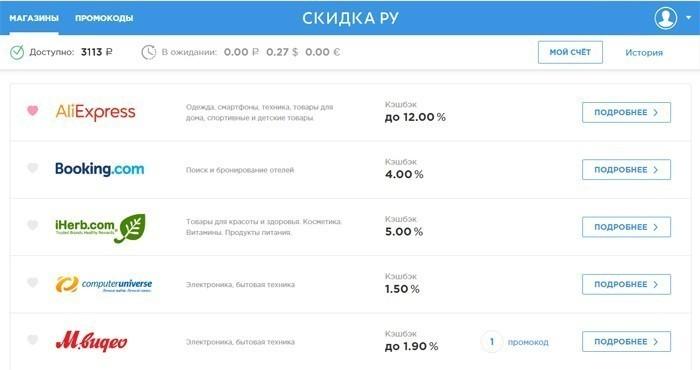 Выгодный кэшбэк-сервис для Алиэкспресс на Skidka.Ru