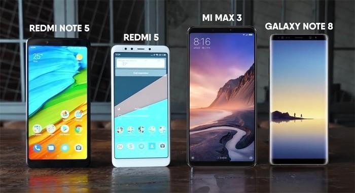 Сравнение Xiaomi Mi Max 3