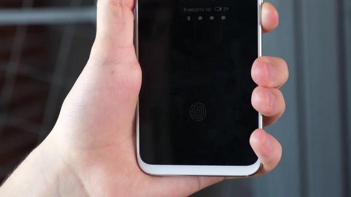 Сканер отпечатка пальцев Meizu 16