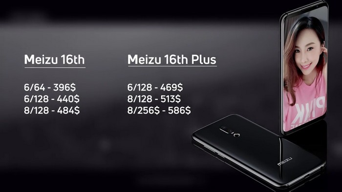Обзор и характеристики Meizu 16