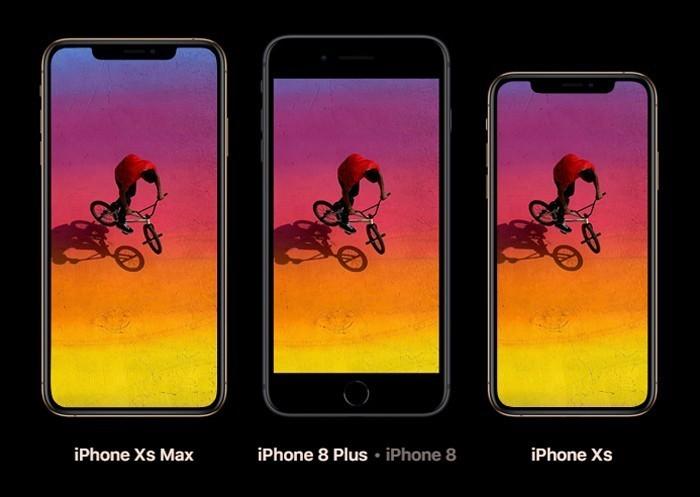 Сравнение Iphone XS и Iphone 8