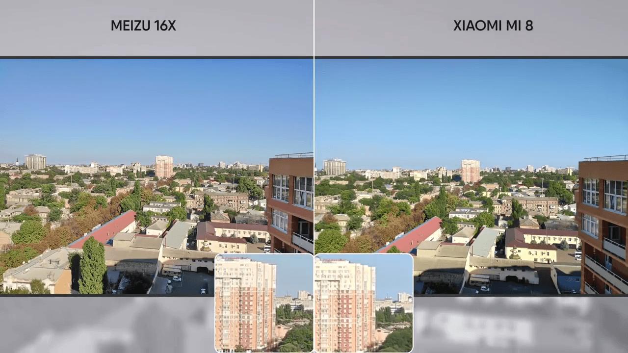Пример фото на Meizu 16x