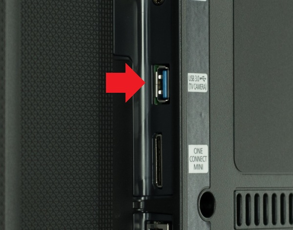USB разъем на телевизоре