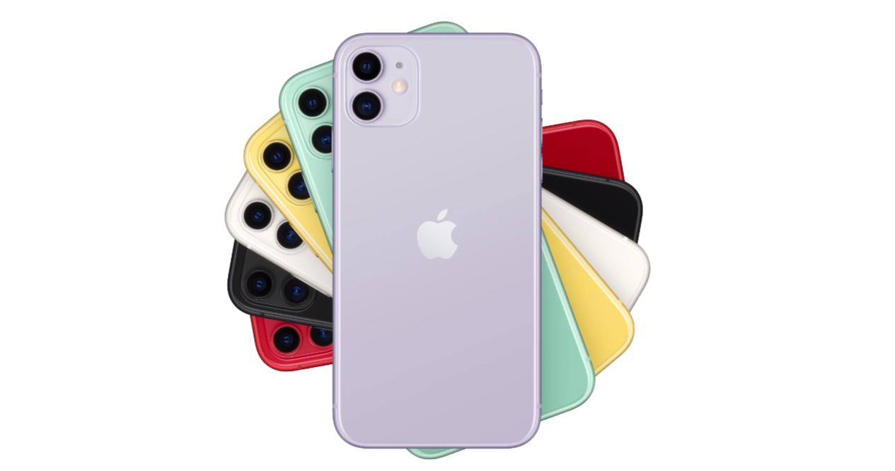 цвета айфонов