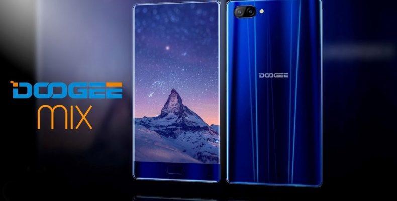 Doogee Mix — смартфон без рамок всего за 180$