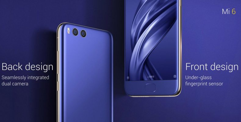 Xiaomi Mi6 поступил в продажу в России