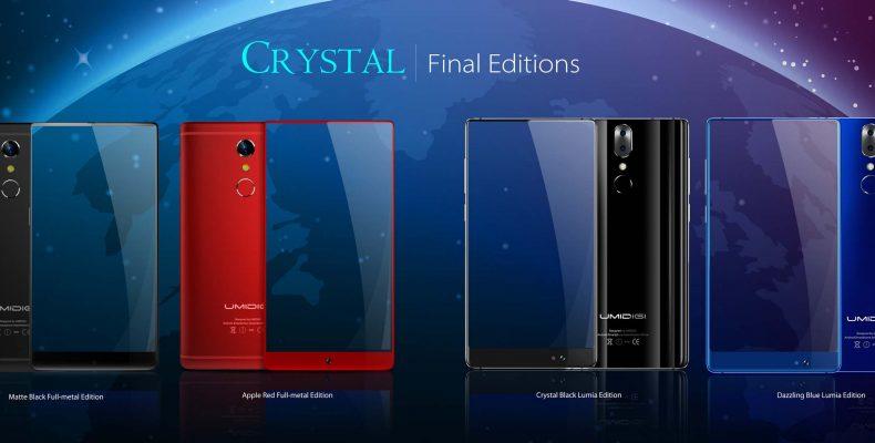 Создайте свой UMIDIGI Crystal!