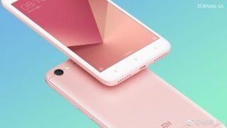 Официальные фото и особенности Xiaomi Redmi Note 5A слиты до анонса