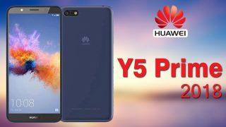 Huawei Y5 Prime 2018: бюджетный смартфон с «вытянутым» экраном