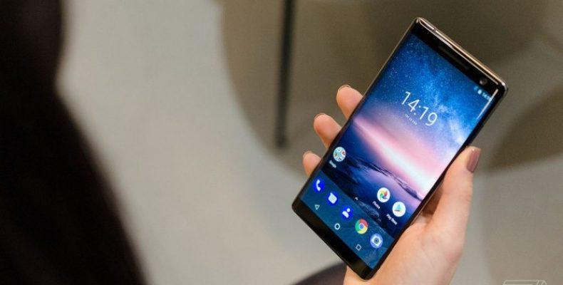 Новый флагман Nokia получит подэкранный сканер отпечатков пальцев