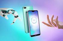 Huawei анонсировала бюджетный смартфон с безрамочным экраном